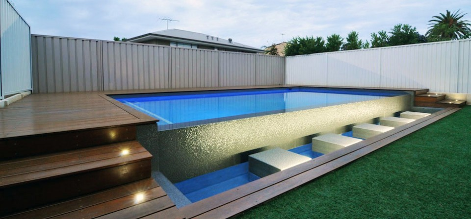 Modular ipool the latest in modular pools home or for Modular pool house